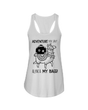 Adventure You Say Camping Ladies Flowy Tank thumbnail