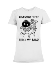 Adventure You Say Camping Premium Fit Ladies Tee thumbnail