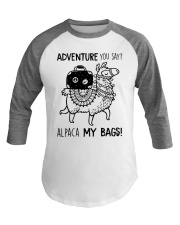 Adventure You Say Camping Baseball Tee thumbnail
