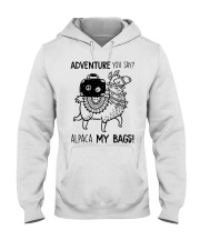 Adventure You Say Camping Hooded Sweatshirt thumbnail