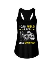 Welder Can Weld A Dick On A Snowman Ladies Flowy Tank thumbnail