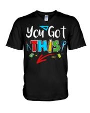You Got This Shirt V-Neck T-Shirt thumbnail
