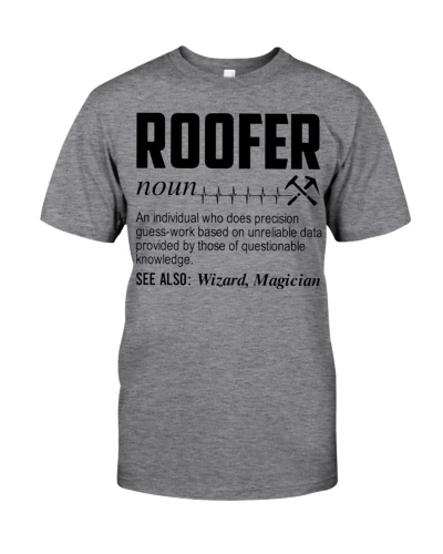 Roofer Noun