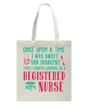 Then I Started Worning As A Registered Nurse Tote Bag thumbnail