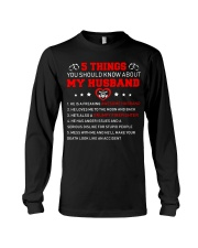 5 thing You Should Know About Husband Firefighter Long Sleeve Tee thumbnail