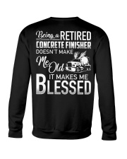 Being A Retired Concrete Finisher Crewneck Sweatshirt thumbnail