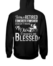 Being A Retired Concrete Finisher Hooded Sweatshirt thumbnail