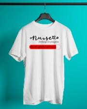 Nurse Ashleigh In Progress Classic T-Shirt lifestyle-mens-crewneck-front-3