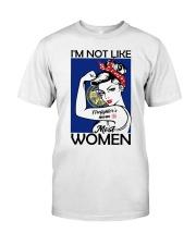 I'm Not Like Firefighter's Mom Most Women Nebraska Premium Fit Mens Tee thumbnail