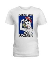 I'm Not Like Firefighter's Mom Most Women Nebraska Ladies T-Shirt thumbnail