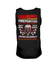 Warning Firefighter With A Strong Personalit Unisex Tank thumbnail