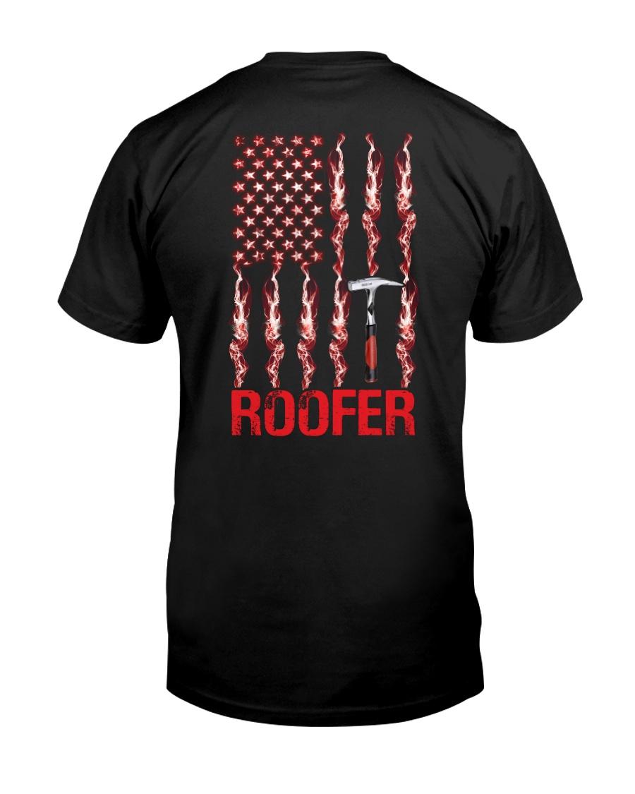 American Flag Roofer Classic T-Shirt