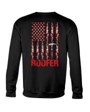 American Flag Roofer Crewneck Sweatshirt thumbnail