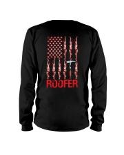 American Flag Roofer Long Sleeve Tee thumbnail