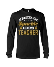 It Takes  A Lot Of Sparkle To Be A Teacher Long Sleeve Tee thumbnail