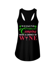 Weekend Forecast Camping With A Chance Of Wine Ladies Flowy Tank thumbnail