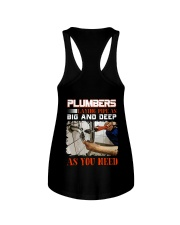 Plumber LAying Pipe As Big And Deep As You Need Ladies Flowy Tank thumbnail