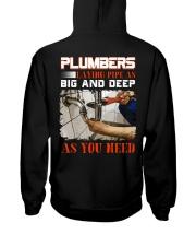Plumber LAying Pipe As Big And Deep As You Need Hooded Sweatshirt thumbnail