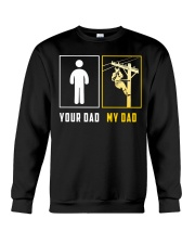 Your Dad - My Dad Lineman Crewneck Sweatshirt thumbnail