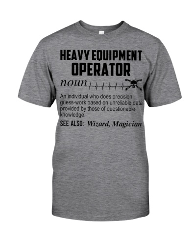 Heavy Equipment Operator Noun