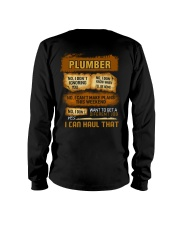 Plumber - I Can Haul That Long Sleeve Tee thumbnail