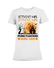 Punctuation Saves Lives Premium Fit Ladies Tee thumbnail