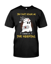 I Work At The Hospital Nurse Premium Fit Mens Tee thumbnail