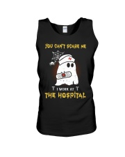 I Work At The Hospital Nurse Unisex Tank thumbnail