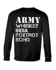 Veteran Army Whiskey India Foxtrot Echo Crewneck Sweatshirt thumbnail