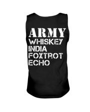 Veteran Army Whiskey India Foxtrot Echo Unisex Tank thumbnail