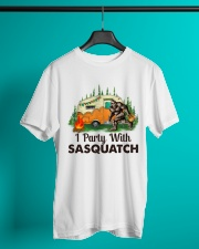 I Party With Sasquatch Classic T-Shirt lifestyle-mens-crewneck-front-3