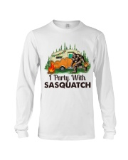 I Party With Sasquatch Long Sleeve Tee thumbnail