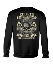 Retired Concrete Finisher Been There Done That Crewneck Sweatshirt thumbnail