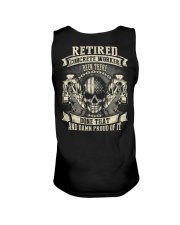Retired Concrete Finisher Been There Done That Unisex Tank thumbnail