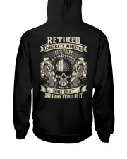 Retired Concrete Finisher Been There Done That Hooded Sweatshirt thumbnail