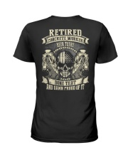 Retired Concrete Finisher Been There Done That Ladies T-Shirt thumbnail