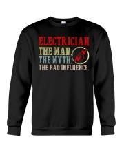 Electrician The Bad Influence Crewneck Sweatshirt thumbnail