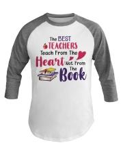 The Best Teachers Teach From The Heart Baseball Tee thumbnail