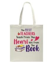 The Best Teachers Teach From The Heart Tote Bag thumbnail