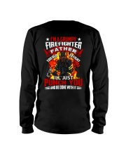 I'm a grumpy firefighter father Too old to fight Long Sleeve Tee thumbnail