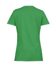 Firefighter Is Like A Four Leaf Clover Ladies T-Shirt women-premium-crewneck-shirt-back