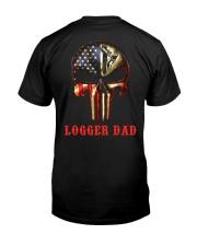 Logger Dad Skull Premium Fit Mens Tee thumbnail