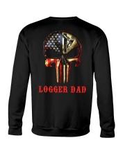 Logger Dad Skull Crewneck Sweatshirt thumbnail