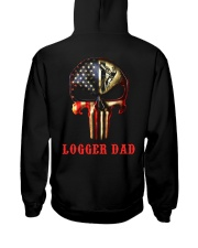 Logger Dad Skull Hooded Sweatshirt thumbnail