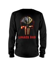 Logger Dad Skull Long Sleeve Tee thumbnail