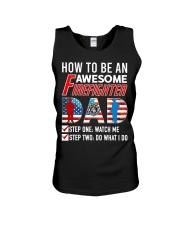 How to Be An Awesome Firefighter Dad Unisex Tank thumbnail