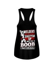 Welders Are Like Badies Shut'em Up Just Put Ladies Flowy Tank thumbnail