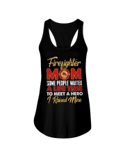 Firefighter Mom I Raised Mine Ladies Flowy Tank thumbnail
