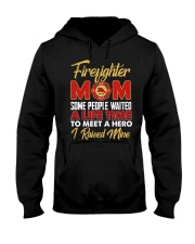 Firefighter Mom I Raised Mine Hooded Sweatshirt thumbnail