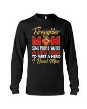 Firefighter Mom I Raised Mine Long Sleeve Tee thumbnail